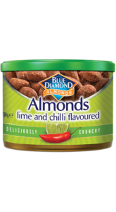 Blue Diamond Almonds Lime and Chilli