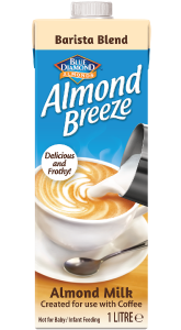 Almond Breeze Almond Milk Unsweetened Barista Blend