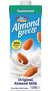 Almond Breeze Almond Milk Sweetened Original